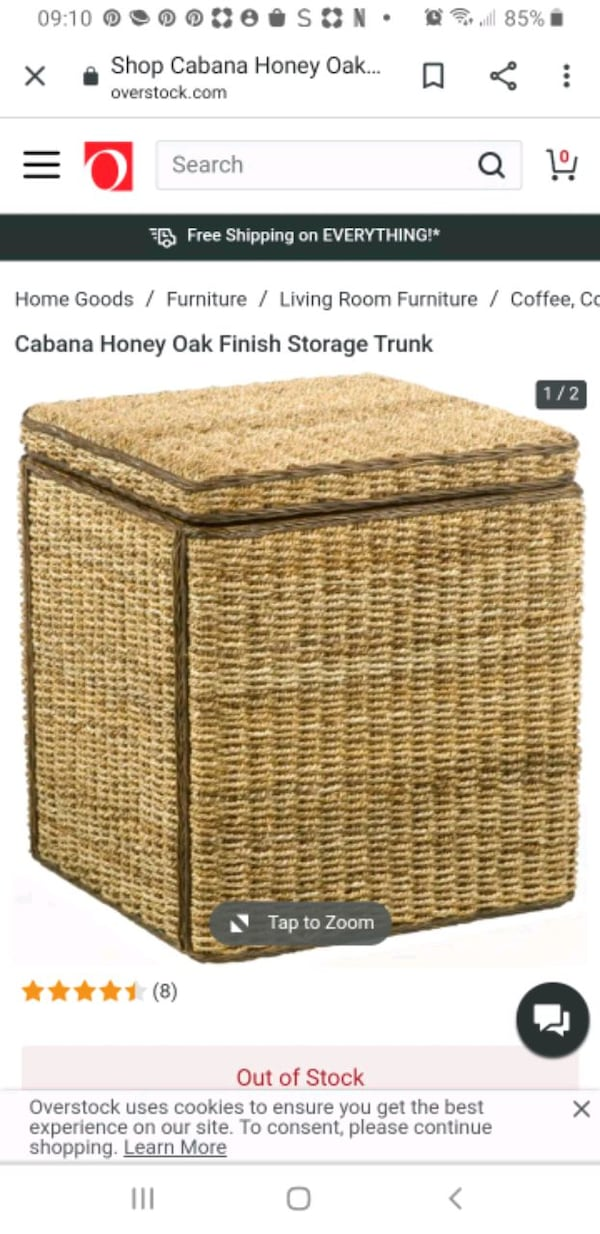 Storage Trunk/Side tables set of two Island/Nautical style. bcc39536-dcfb-4409-ac07-a37ab70292f2