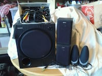 SONY one active subwooper, Four speakers  Bakersfield, 93312