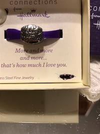 "Pretty! Silver ""I Love You More "" Charm from Hallmark Gainesville, 20155"