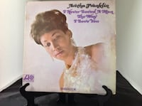 Aretha Franklin I Never Loved A Man The Way That I Love You Album Planet Aid Thrift Center Catonsville, Md 21229 Baltimore, 21229