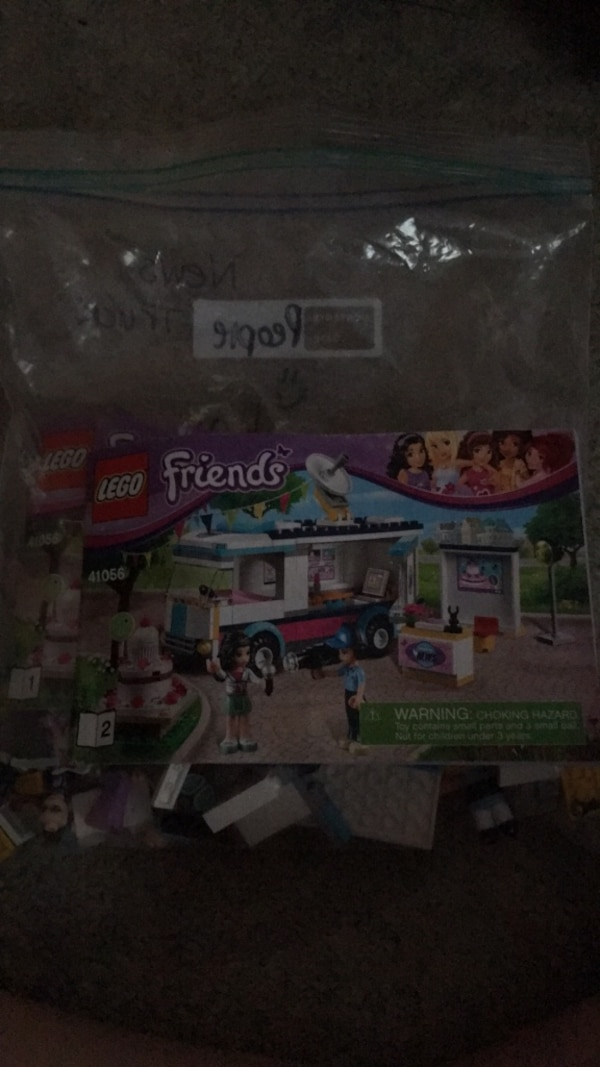Used Lego Friends News Truck Set Instructions For Sale In