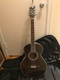 Jay Turner Acoustic Guitar (INCLUDED: Capo & Guitar backpack)