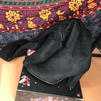 black suede side-zip heeled knee-high boots  Vancouver, V5R 5E3