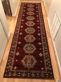 Brand new carpet runner size 3x10 nice red rug runners hallway carpets Burke, 22015
