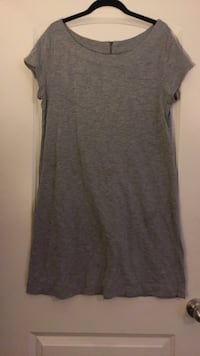 Large grey tshirt type dress 55 km