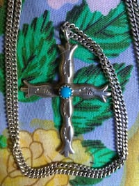 Native American sterling silver Cross Redding, 96001