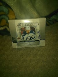 Artifacts hockey trading card