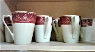 GIFT Eight $20 Total Pier 1 Import Coffee Mugs