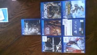 Ps4 games 20$ each Rocky Mount, 27803
