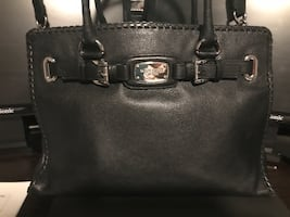 Brand new Michael Kors Black leather tote bag