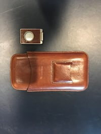 High end Cigar Case and clippers - great gift never used Poolesville, 20837