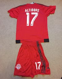 Jozy Altidore TFC soccer jersey and shorts  Guelph, N1E 5T6