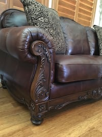 Brown Leather Couch Henderson, 89052