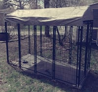 Dog kennel 8 ft long 4 ft wide 6 ft tall South Bend, 46616