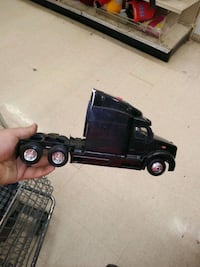 a toy peterbilt truck the lights come on it makes noise