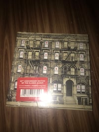 Brand new sealed 40th anniversary physical graffiti Led Zeppelin mint condition Williamstown, 08094