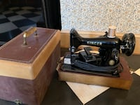 1956 Singer Sewing Machine Savage