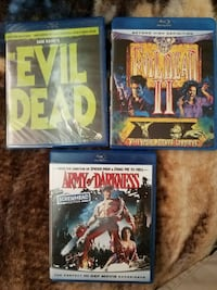 Evil dead, evil dead 2, armies of darkness Catonsville, 21228