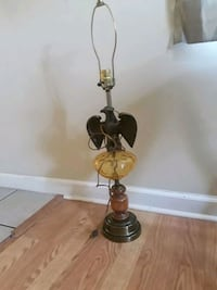 brown and black table lamp Ranson, 25438