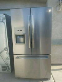 stainless steel french door refrigerator Hesperia, 92345