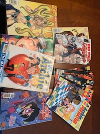 Assorted Comics -$5 for the lot. GUC Pickering, L1V 1J4