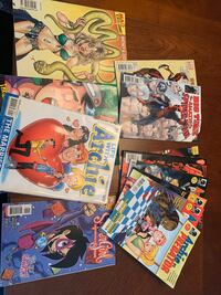 Assorted Comics -$5 for the lot. GUC