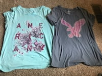 American Eagle AE shirts. Women's Large. Smoke free Williamsport, 21795
