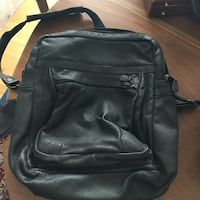 Scully Italia Black Leather Backpack/Like New! Los Angeles, 91405
