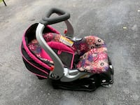 baby's pink and black car seat carrier Hagerstown