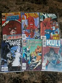 6 Marvel comic Brampton, L7A 2R8