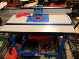 Kreg Precision Router Table