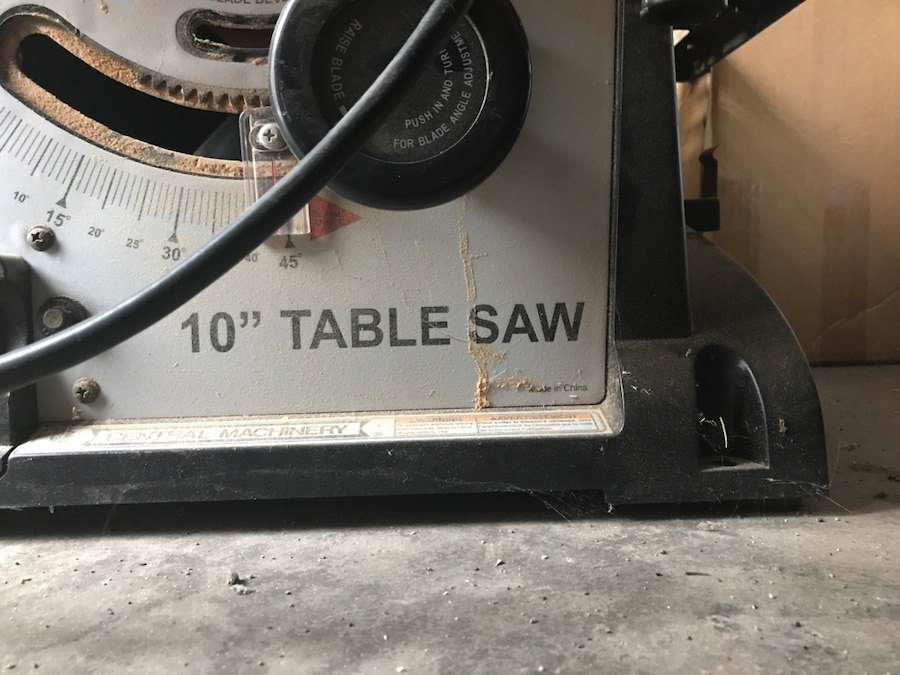 10 table saw in abilene letgo for 10 table saw harbor freight