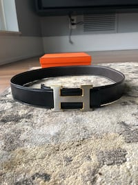 Gold and silver buckle Hermes belt Mississauga, L5B 4G7