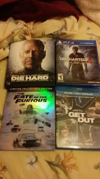 Ps4 game with 3 blurays