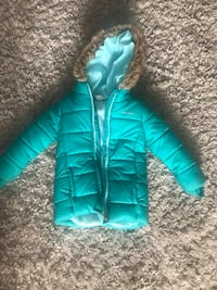 teal zip-up bubble parka Westfield, 07090
