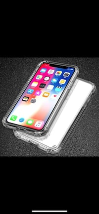 Luxury Shockproof Bumper Transparent Silicone Phone Case For iPhone X XS XS Max