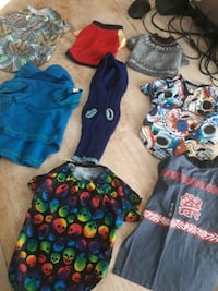 8 doggie/puppy  sweaters and shirts  Lancaster, 93535