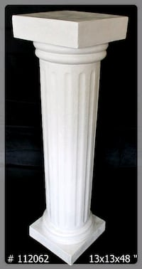 Tall 48 inch fiberglass colums for sale. 140 for the set of 2