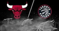 Raptors vs. Bulls, March 26 – Lower Bowl, Aisle Toronto