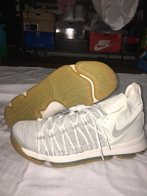 newest collection 040fe 59a3a Nike Zoom KD 9 Elite Pale Grey/Ivory