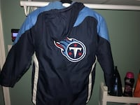 Titans winter coat. Only worn once 1617 mi