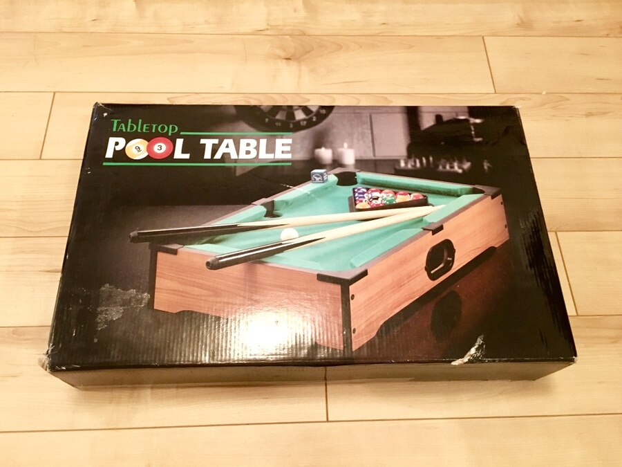 Tabletop Pool Table box for sale  Richmond