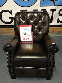 Leather Recliner  Hopkins, 55343