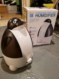 Ultrasonic cool mist humidifier - quiet and no filters required