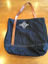 Kings of Leon Tote Bag Leather Strap 540 km