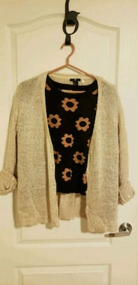 women's brown cardigan Markham, L6C 0H6