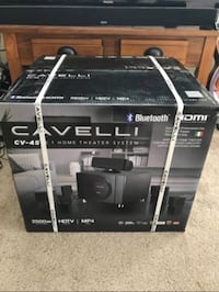 Cavelli CV-45 Home Theater System 49 km