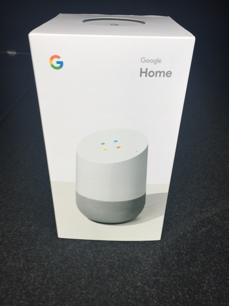 Google Home voice-activated speaker box for sale  Toronto