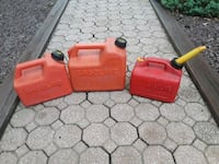 Gas cans  Atlantic County, 08330