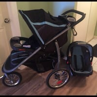 Graco Fast Action Fold Jogger Click and Go Travel System  Toronto, M9V